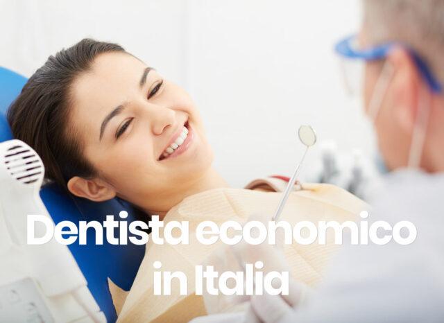 dentista economico in Italia