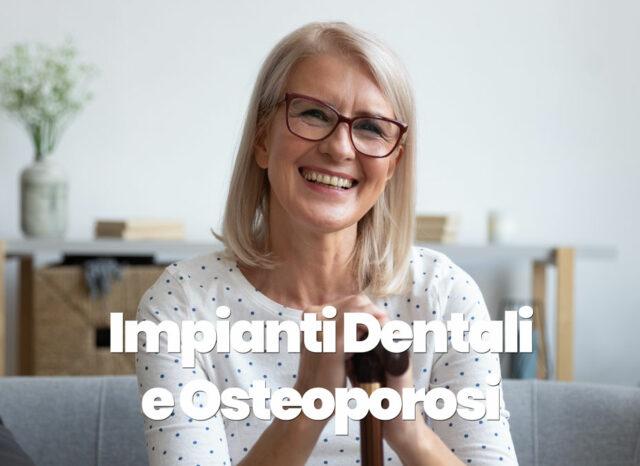 mettere l'impianto dentale con l'osteoporosi