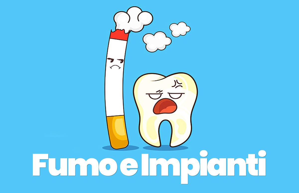 fumo e impianti dentali
